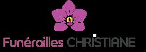 logo pompes funèbres Christiane